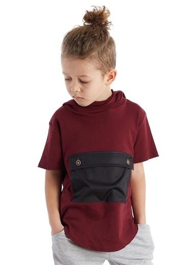 Colorinas Colorinas Kangru Cep  Erkek Çocuk Tshirt Beyaz